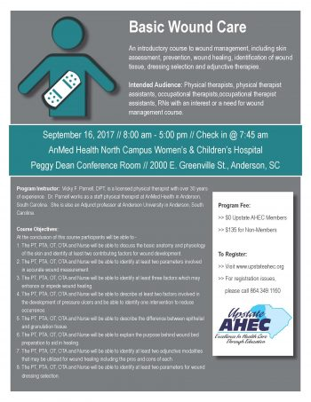 Basic Wound Care Sept 16