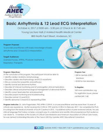 Basic Arrhythmia & 12 Lead ECG Interpretation Oct 4