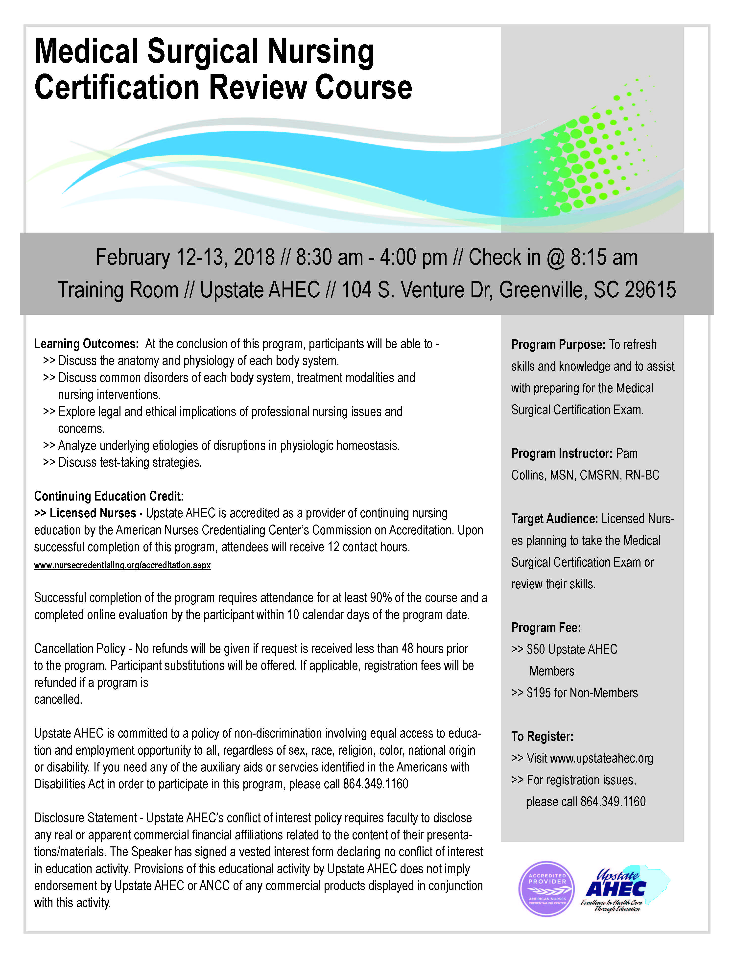 Medical Surgical Nursing Certification Review Course Feb 12 13