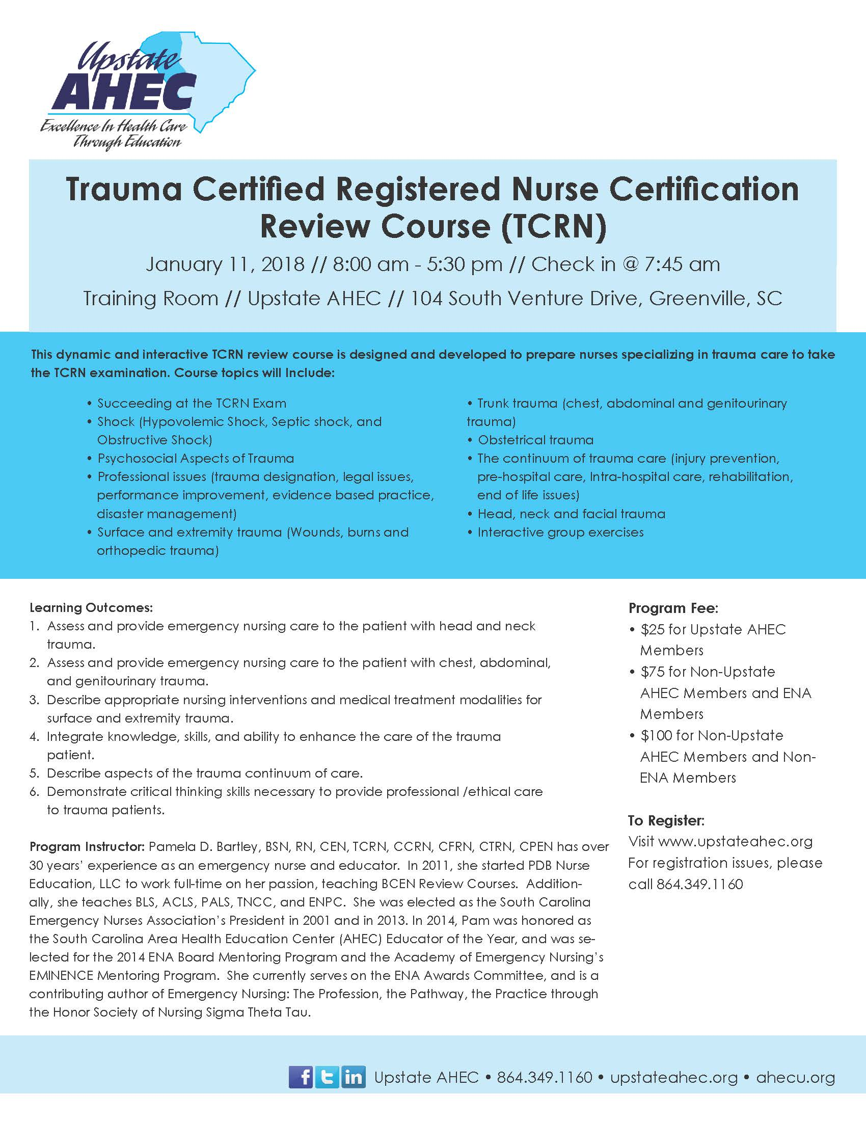 Trauma Certified Registered Nurse Certification Review Course Tcrn
